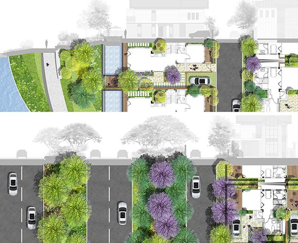 Villa-B-Sectio&Plan-at-Entrance_c
